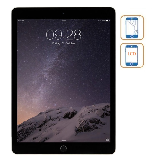 iPad 5 Glass & LCD Replacement