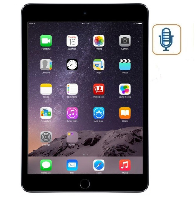 iPad Mini 3 Mic Repair